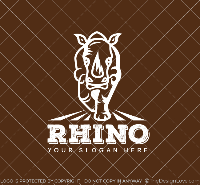 The-Rhino-Pre-Designed-Logo