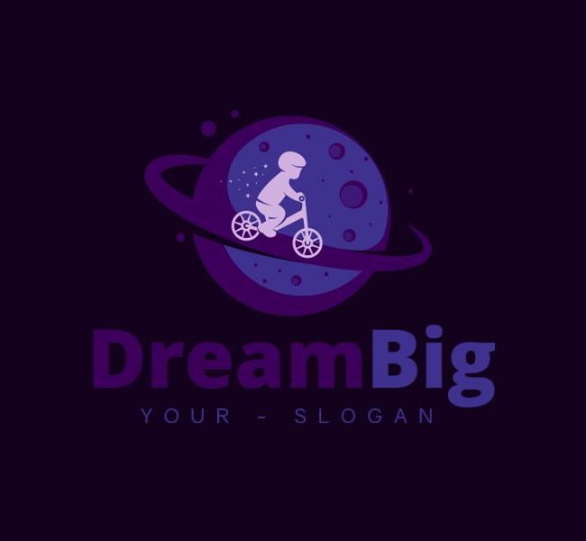 Dream-Big-Stock-Logo-Template
