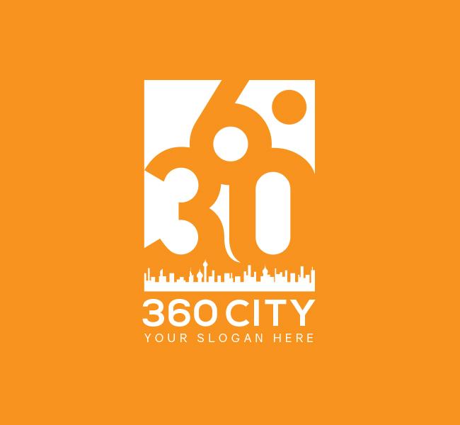 360-City-Pre-Designed-Logo