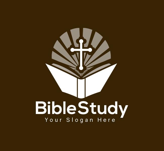 Bible-Study-Pre-Designed-Logo