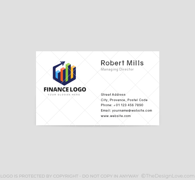 Finance-Business-Card-Front