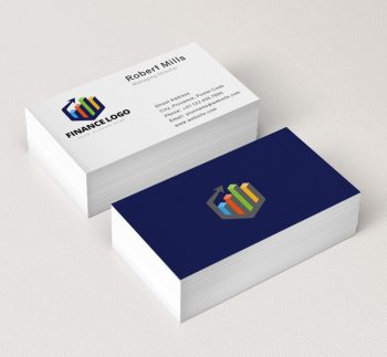 Finance-Business-Card-Mockup