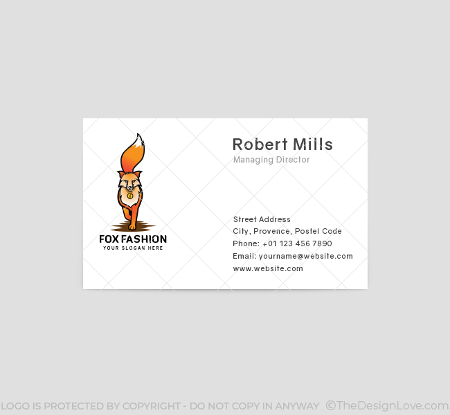 Fashion-Fox-Business-Card-Front