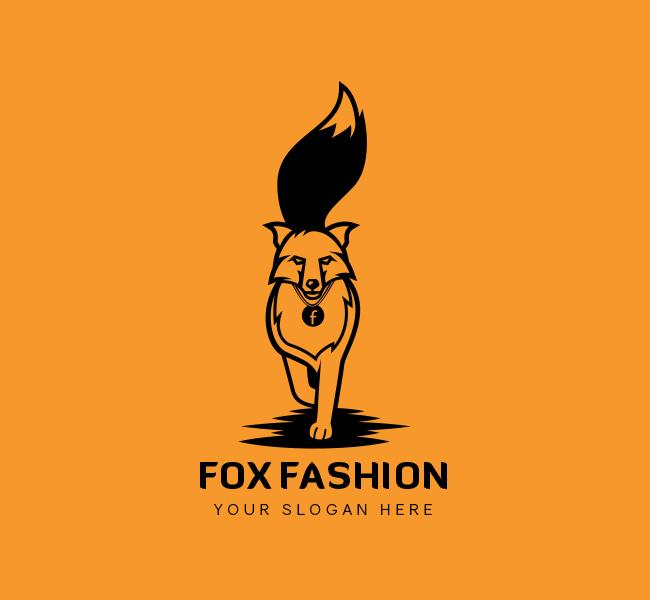 Fashion-Fox-Stock-Logo