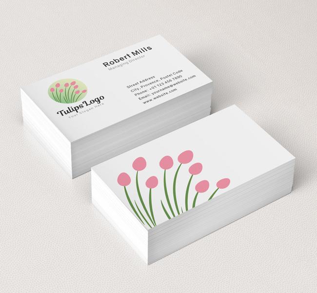 Tulips-Business-Card-Mockup