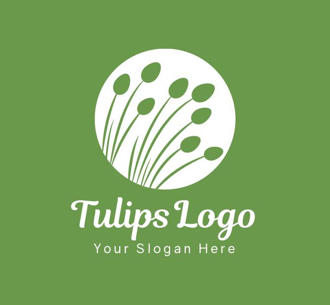 Tulips-Pre-Designed-Logo