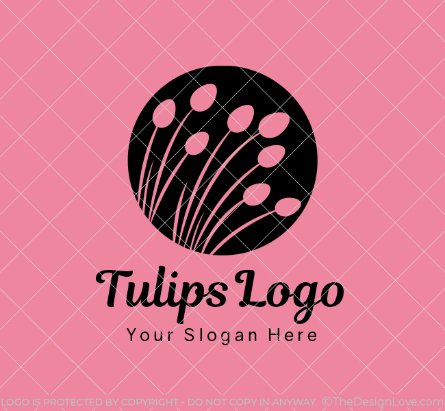Tulips-Stock-Logo