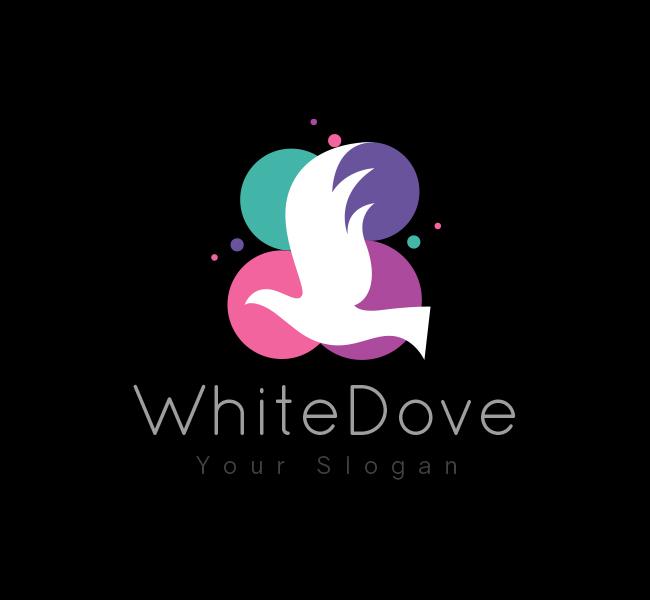 White-Dove-Startup-Logo