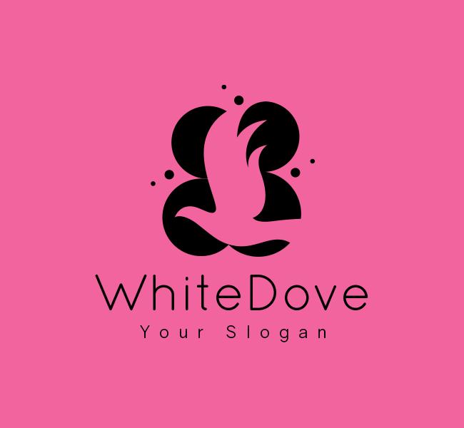White-Dove-Stock-Logo