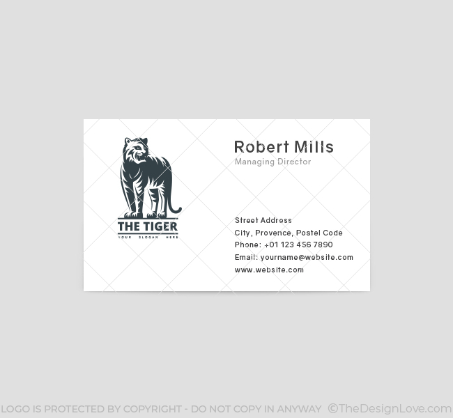 The-Tiger-Business-Card-Front