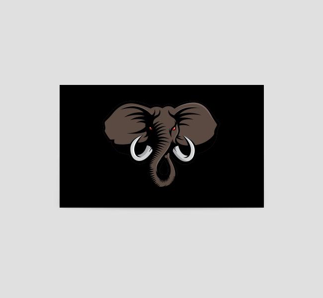 Elephant-Head-Business-Card-Back