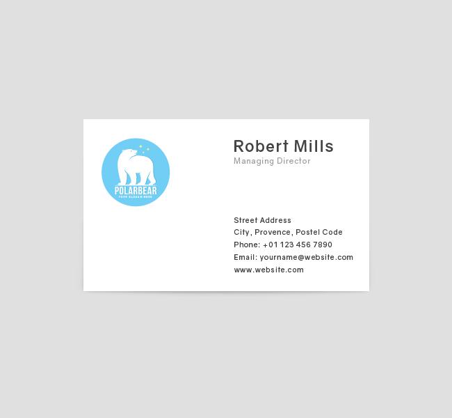 Polar-Bear-Business-Card-Front