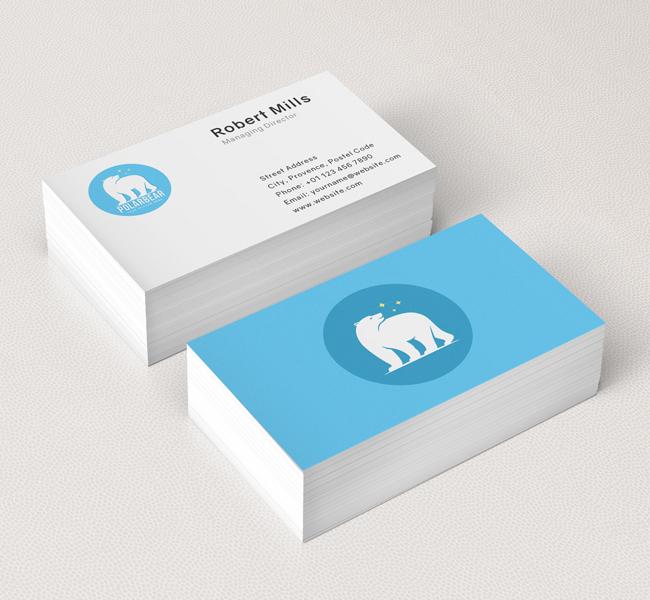 Polar-Bear-Business-Card-Mockup