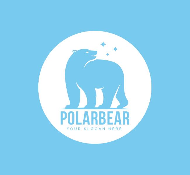 Polar-Bear-Pre-Designed-Logo