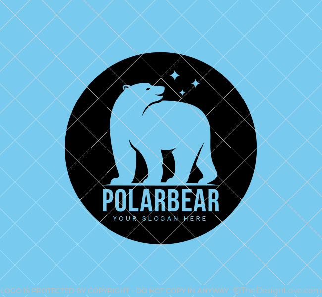 Polar-Bear-Stock-Logo
