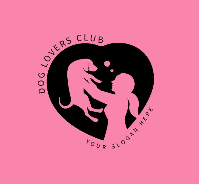 Dog-Lovers-Stock-Logo