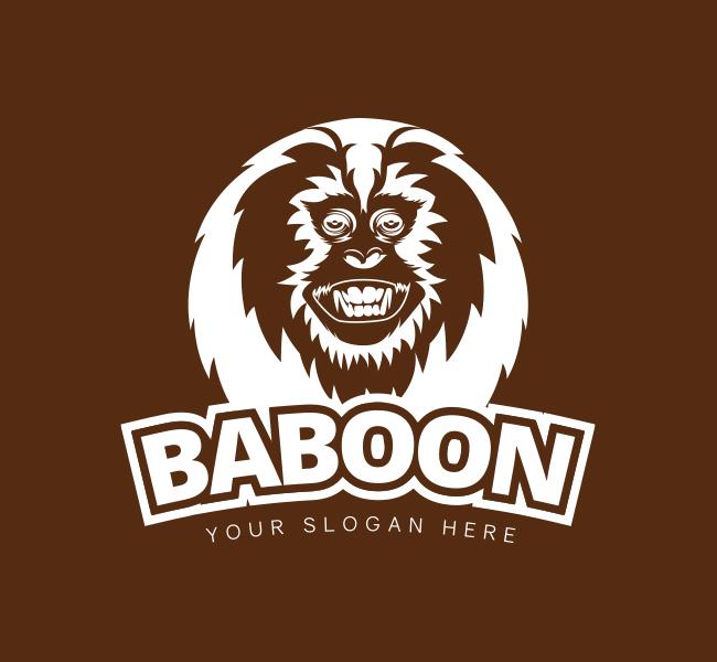 Baboon-Logo-Pre-Designed-Logo