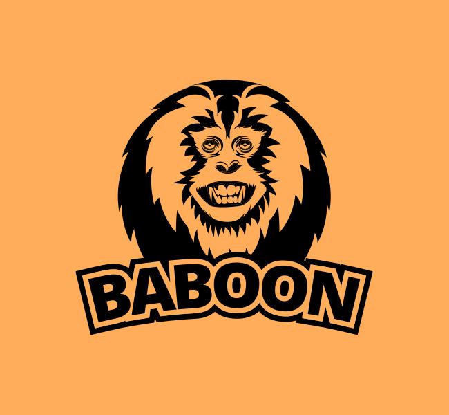 Baboon-Stock-Logo