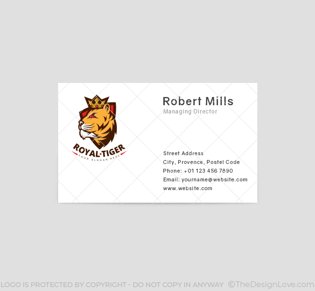 Crown-Tiger-Business-Card-Front