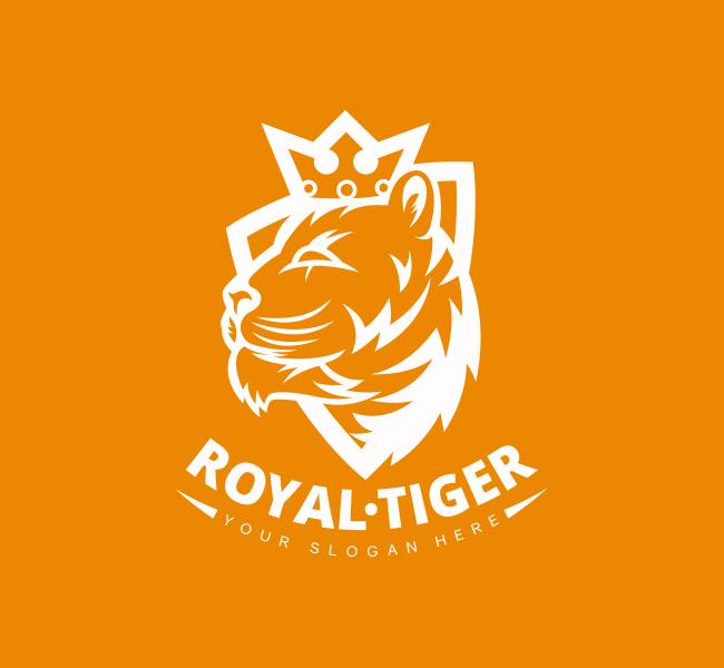 Crown-Tiger-Pre-Designed-Logo