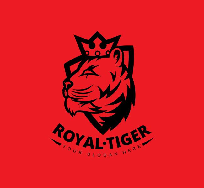 Crown-Tiger-Stock-Logo
