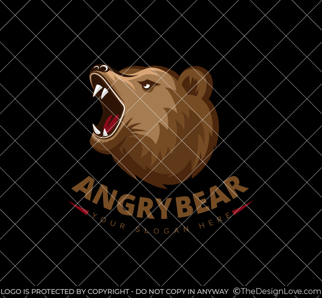Angry-Bear-Startup-Logo