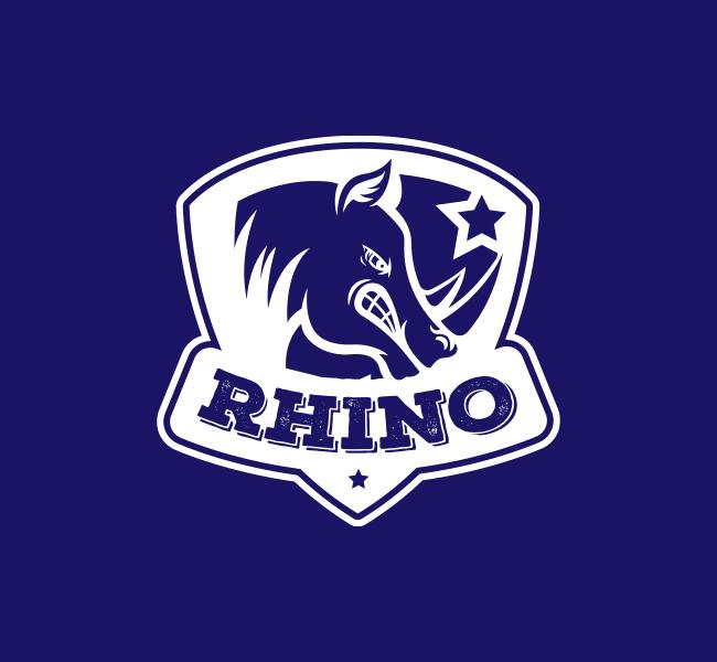 Rhino-Mascot-Pre-Designed-Logo