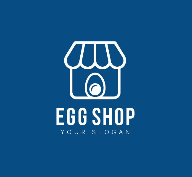 Egg-Shop-Pre-Designed-Logo