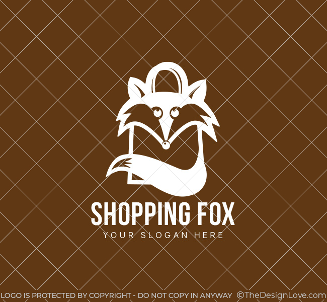 Shopping-Fox-Pre-Designed-Logo