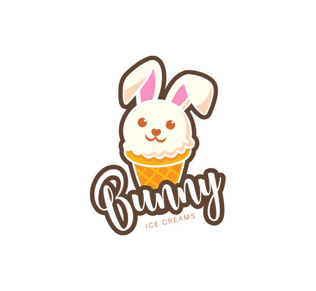 Bunny-Ice-Cream-Logo