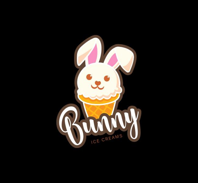 Bunny-Ice-Cream-Start-up-Logo