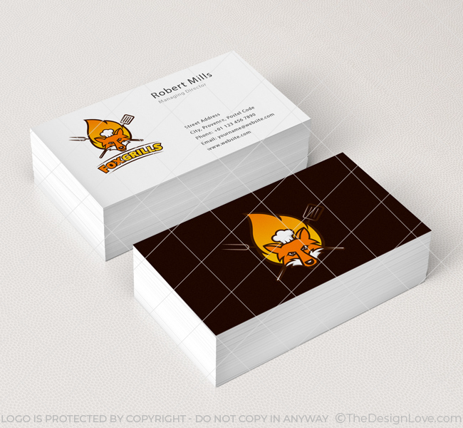 Fox-Grills-Business-Card-Mockup