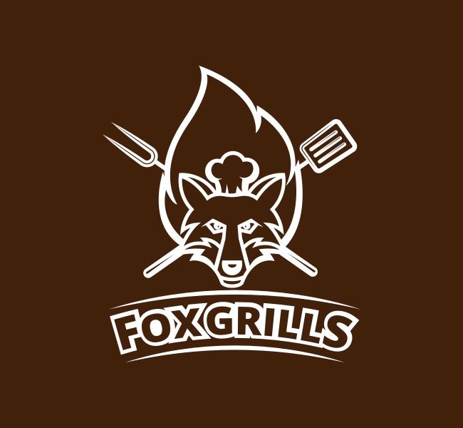 Fox-Grills-Pre-Designed-Logo