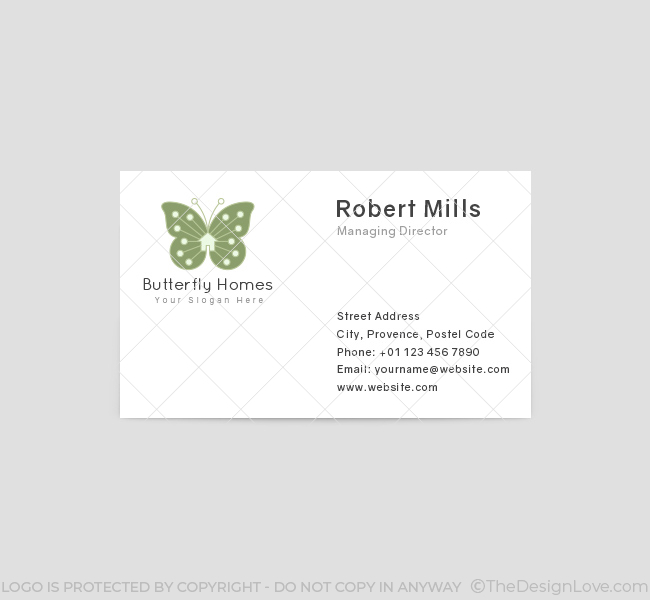 Butterfly-Homes-Real-Estate-Business-Card-Front