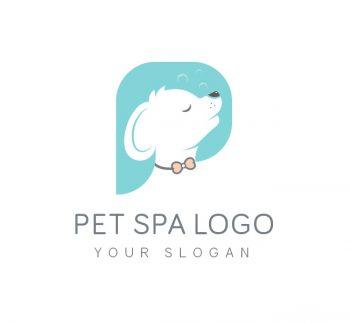 Pet Spa Logo & Business Card Template