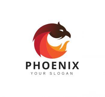 Phoenix Logo Business Card Template