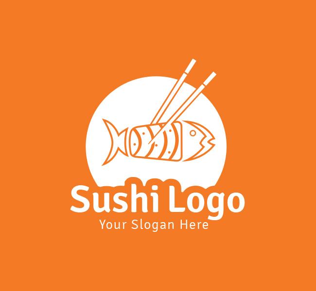 Sushi-Pre-Designed-Logo