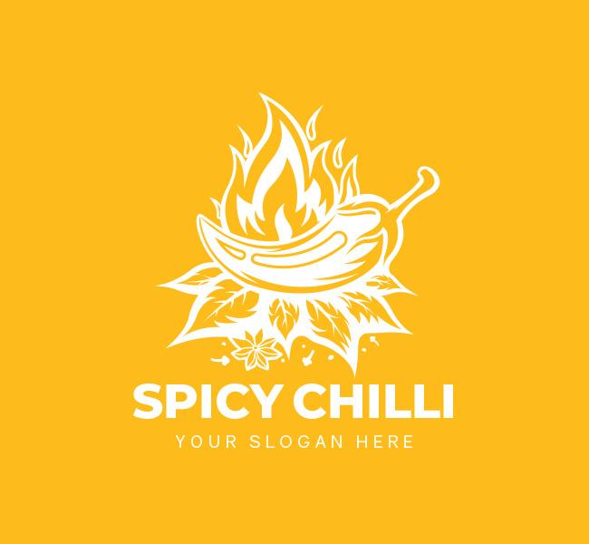 Spicy-Chilli-Pre-Designed-Logo