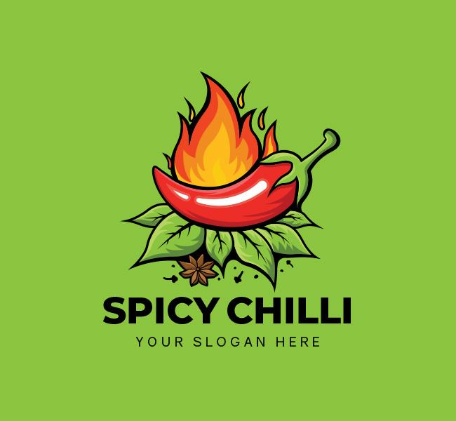 Spicy-Chilli-Startup-Logo