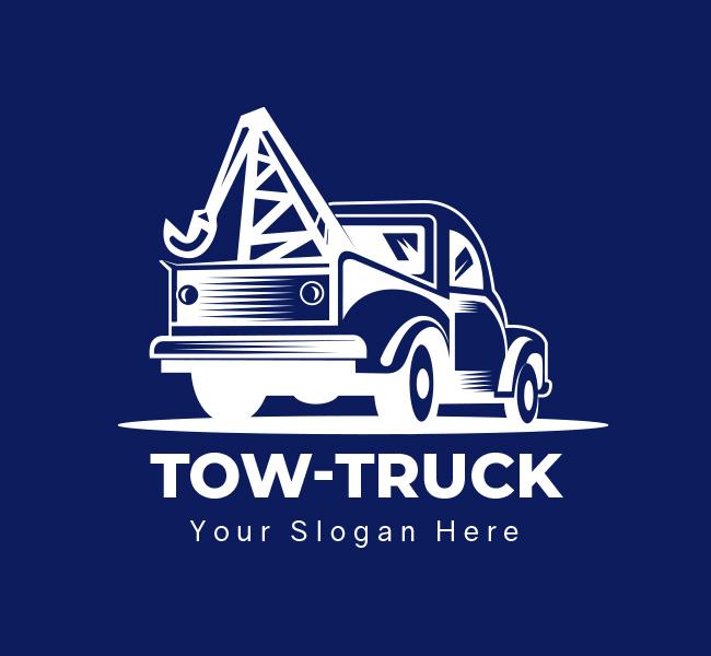 Tow-Truck-Pre-Designed-Logo