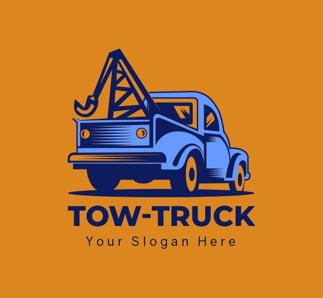 Tow-Truck-Startup-Logo