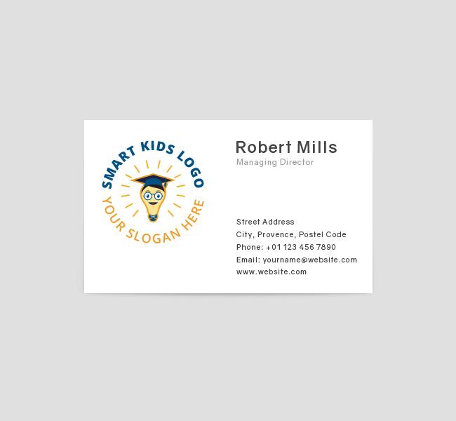 Smart-Kids-Business-Card-Front