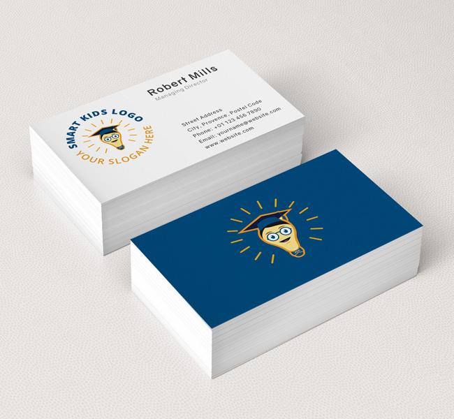 Smart-Kids-Business-Card-Mockup