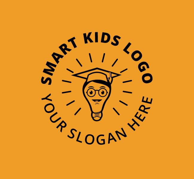 Smart-Kids-Pre-Designed-Logo