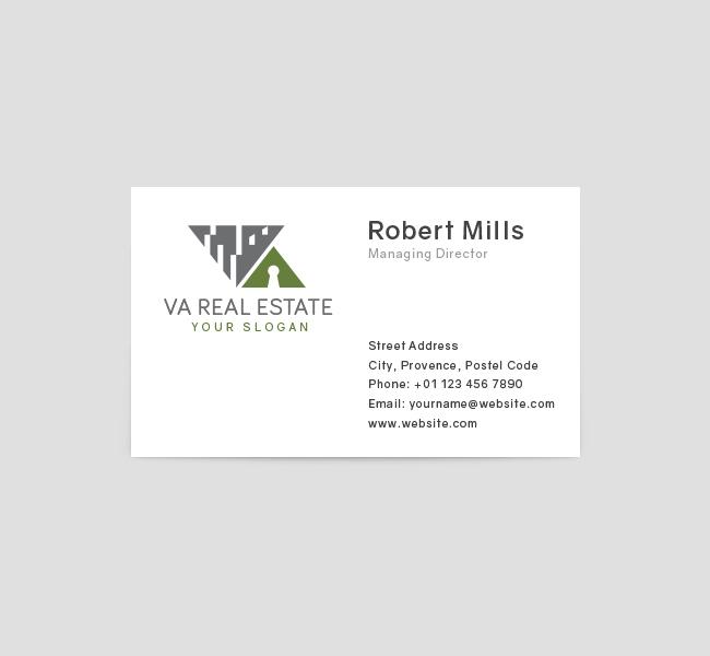 Alphabet-VA-Real-Estate-Business-Card-Front