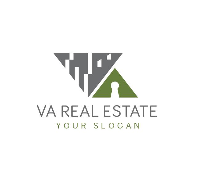 Alphabet-VA-Real-Estate-Logo