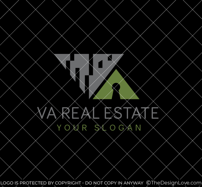 Alphabet-VA-Real-Estate-Startup-Logo