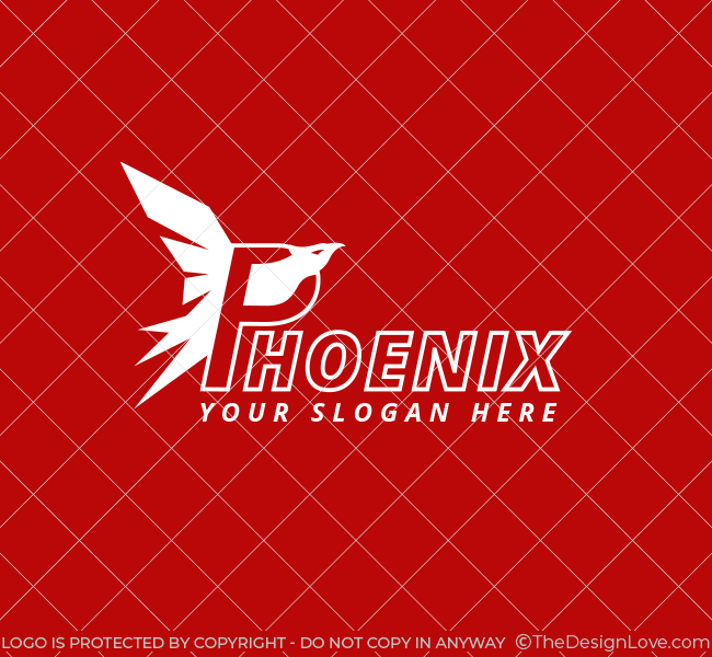 Phoenix-Bird-Pre-Designed-Logo