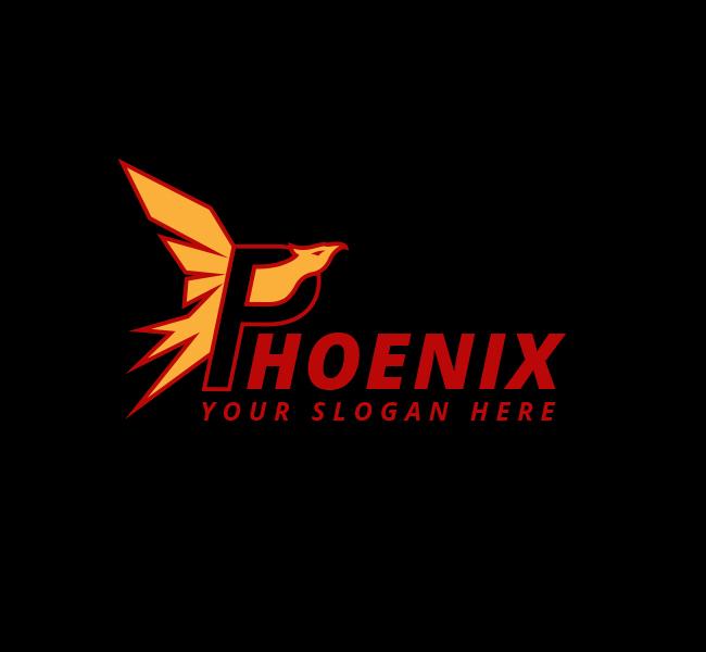 Phoenix-Bird-Start-up-Logo