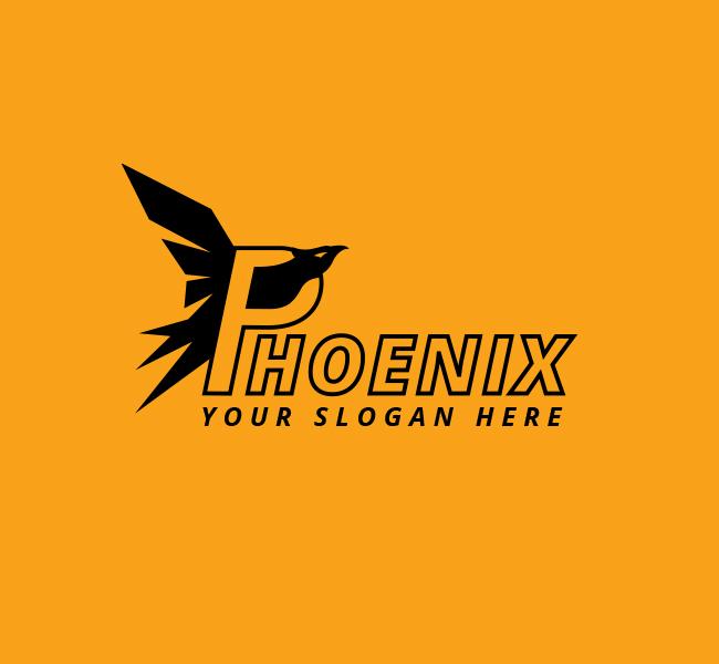 Phoenix-Bird-Stock-Logo
